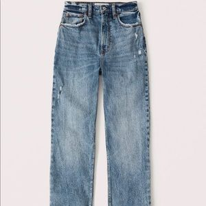 90s ultra high rise straight jeans 👖